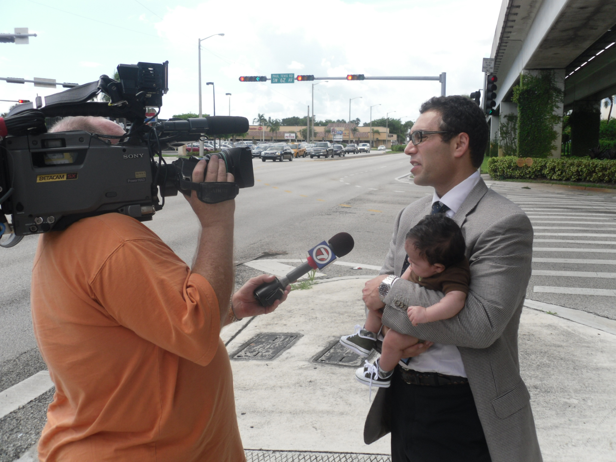 South Miami anti-circumcision protest rally with Intaction.org