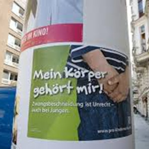 German pediatric circumcision protest