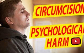 circumcision psychological harm