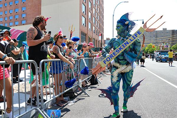 circumcision foreskin mermaid parade