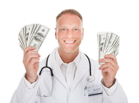 doctor circumcision money profits